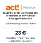 Act Premium Prix